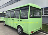 18 Seats Electric Sightseeing Bus , School Shuttle Bus With Doors 30 Km/H