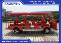 8 Seats Electric Sightseeing Bus 4 Wheel Electric Shuttle Car for Resort  Park