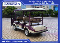 48V  Battery Powered 8 Seater Electric Car , Street Legal Electric Carts Comfortable