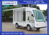 2 Seater 48V Battery Hotel Buggy Car With Cargo for Transport Luggage