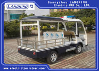 4 Seater Electric Patrol Car For Security Cruise Car With Caution Light for Resort