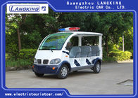 Street Road Legal Electric Patrol Vehicles 8 Passengers Environmental Friendly