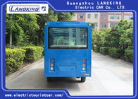 Low Speed Electric Sightseeing Car 14 Passengers Personal Transport