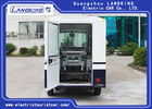 Blue / White Color Electric Ambulance Car With Toplight For Hospital