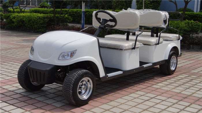 Compact Design Electric Club Car With ADC 3KW Motor HS CODE 8703101900